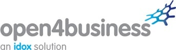 Open 4 business logo image